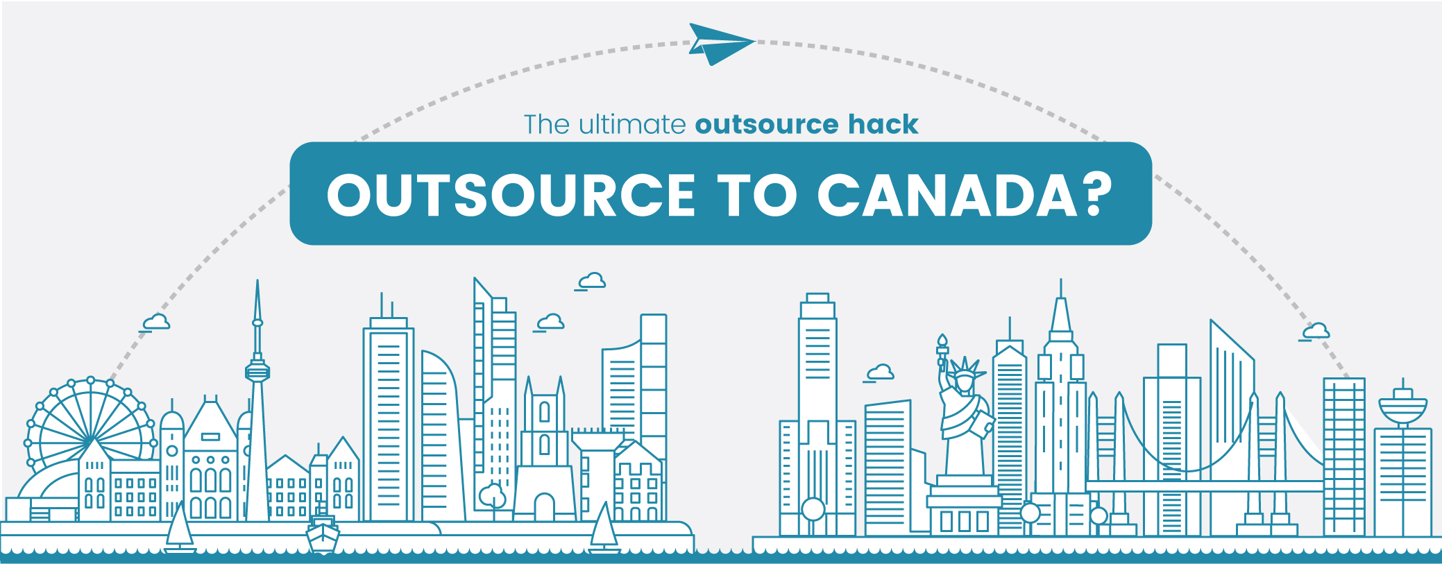 Outsourcing to Canada. The ultimate Marketing Hack