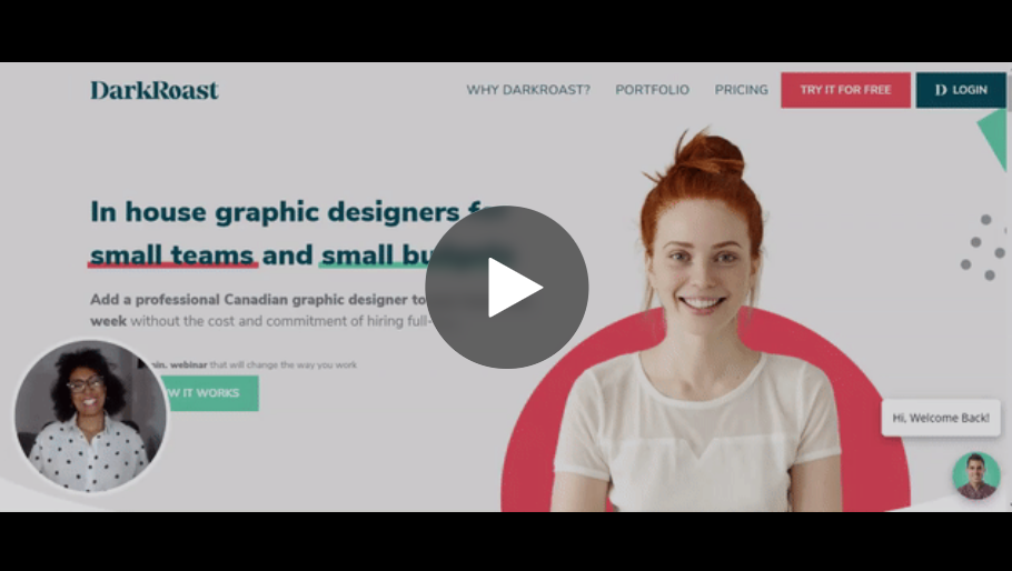 darkroast design in house graphic design for small teams