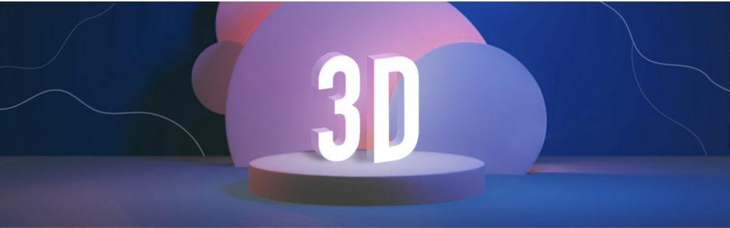 design trend 2021 3d design