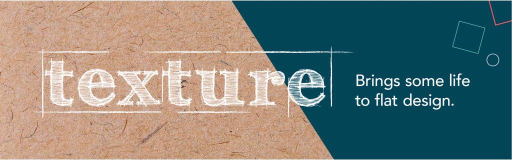 graphic design trends texture