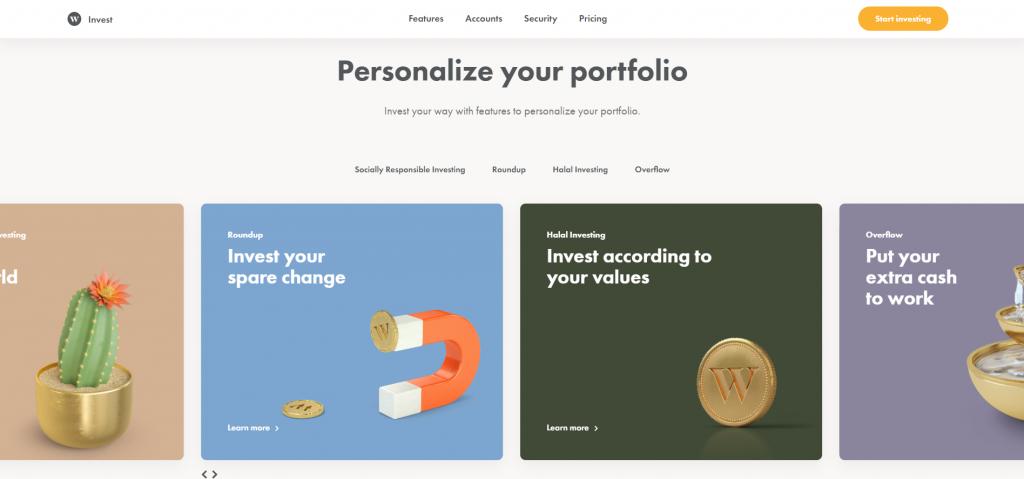 wealth simple 3d design