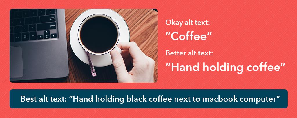 Alt text examples for good product descriptions